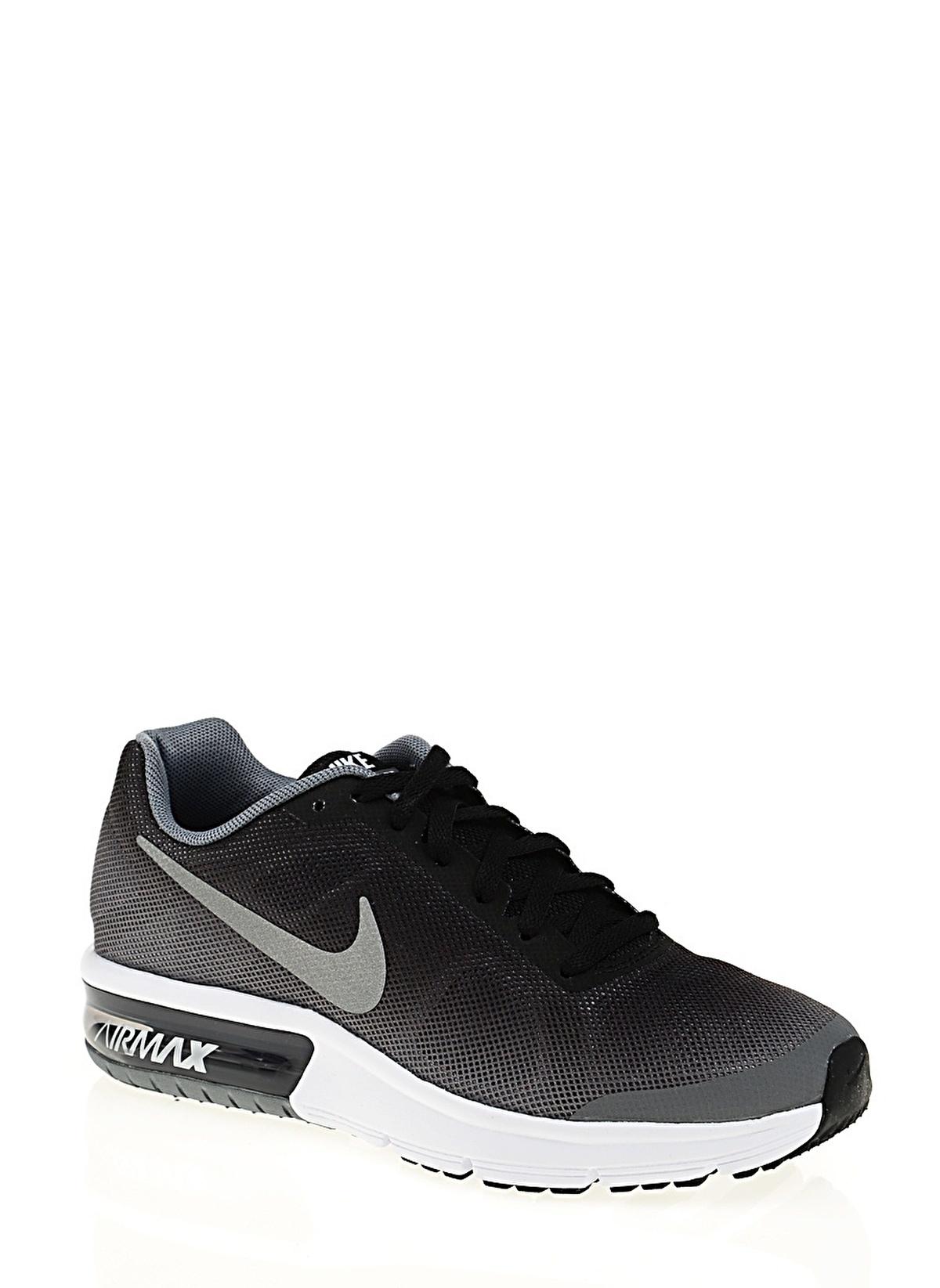 Shoes NIKE Air Max Sequent (GS) 724983 011 BlackMetallic Silver